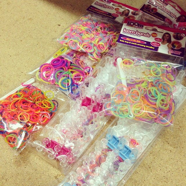 New #loombands stock just arrived. Guess I will be busy tonight #craftmerrily