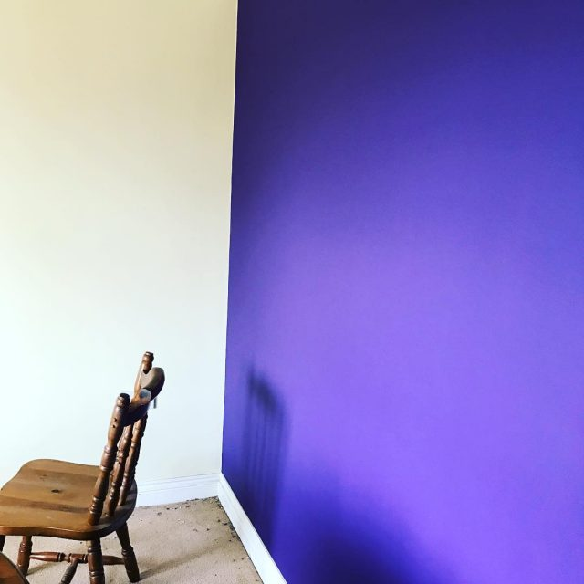 New dining room colour scheme