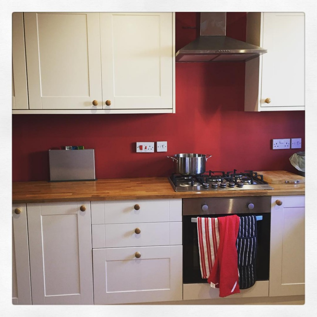 Absolutely in love with the kitchen pop tw newkitchen homeimprovements