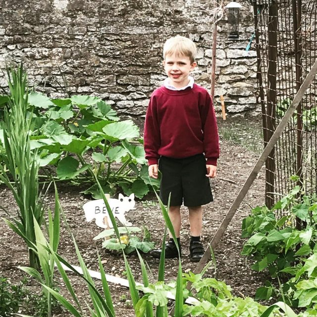 The boy has befriended a local gardener and has hadhellip